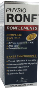 3 chênes physio ronf ronflements spray buccal 20 ml