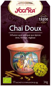 Yogi tea chaï doux infusion ayurvédique 17 sachets