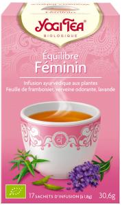 Yogi tea équilibre féminin 17 sachets