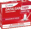 DAFALGANTABS 1000mg douleurs et fièvre
