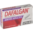 Dafalgan adultes 600 mg, suppositoire