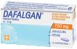 Dafalgan 150 mg, suppositoire