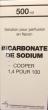 Bicarbonate de sodium cooper 1,4%, solution pour perfusion en flacon