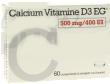 Calcium vitamine d3 eg 500 mg/400 ui, comprimé à croquer ou à sucer