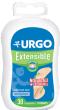Urgo extensible : pansement adhésif antiseptique prédécoupé 30 pansements