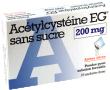 Acetylcysteine eg 200 mg sans sucre, poudre pour solution buvable en sachet-dose